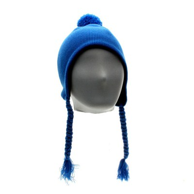 Basic Peru Beanie - Aqua