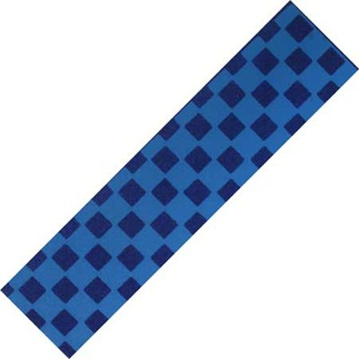 Checkered Black/Blue Scooter Griptape