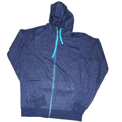 Timesoft III Ultra Slim Violet Blue Zip Hoody