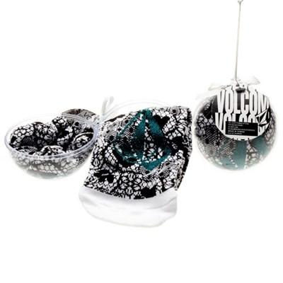 Party Ballz Sock Ornament - Black