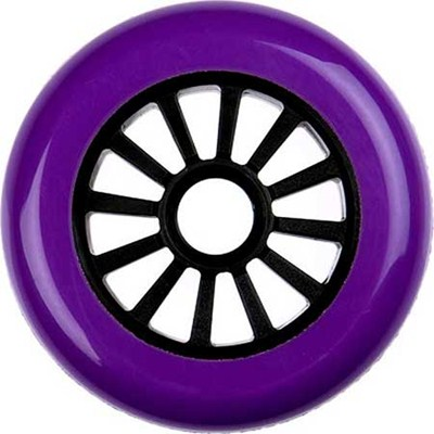 Low Profile Purple/Black Scooter Wheel