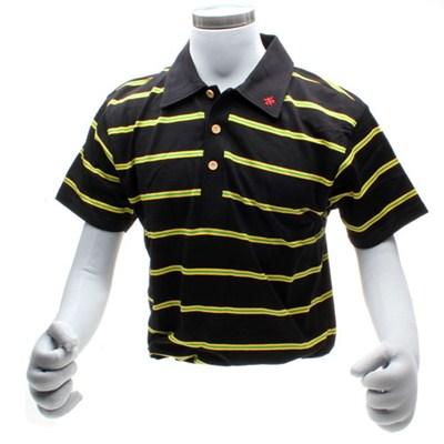 Script S/S Polo Shirt