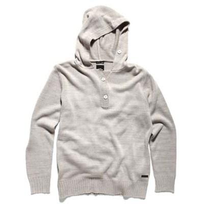 Donovan Heather Brown Hooded Sweater