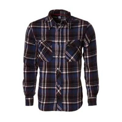 Cypress Long Sleeve Flannel Shirt - Storm