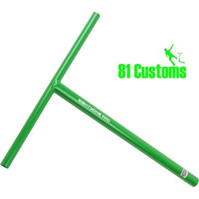81-Pro Green Straight One Piece T-Bar