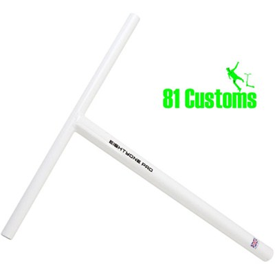 81-Pro Pepper White Straight One Piece T-Bar