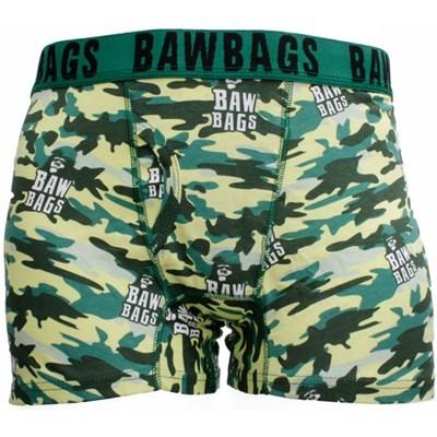 Bawbags Cammo Wood Boxer Shorts