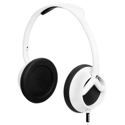 The Trooper White/Black Headphones