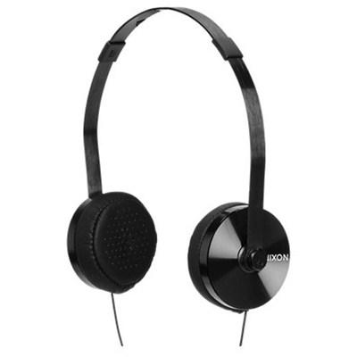 Apollo 3-Button Mic All Black Headphones