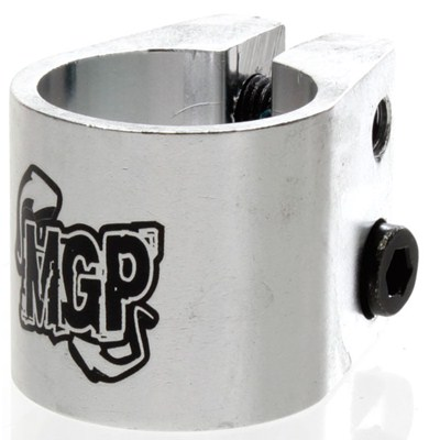 MGP Double Collar Scooter Clamp - Silver