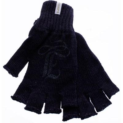 Braveheart Girl Fingerless Gloves - Dark Blue
