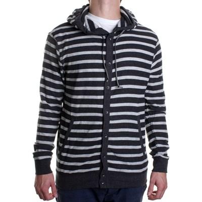 Clusto Cardigan Hooded Sweater - Black
