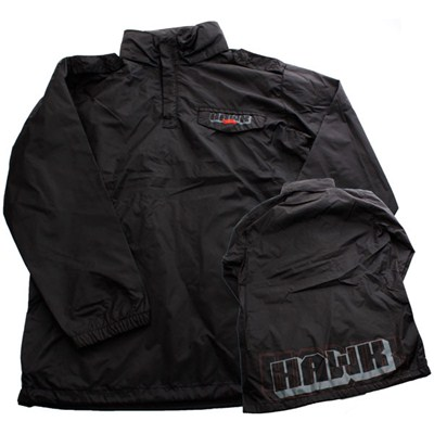 Mates Windbreaker Jacket - Full Black