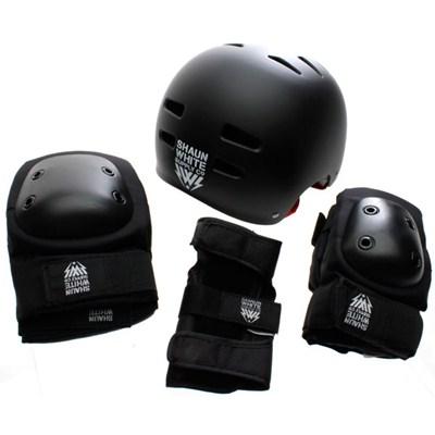 SW Black Helmet/Pad Combo