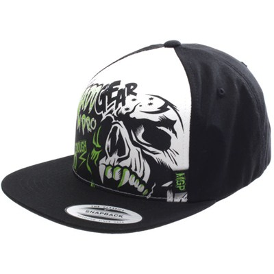 MGP Crossbone Trucker Cap - Black