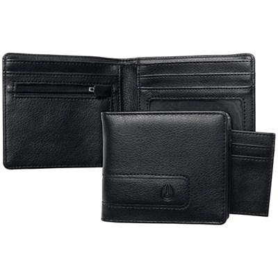Showtime Bi-fold Zip Wallet - All Black