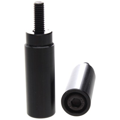 Slimline Scooter Pegs with Male Axle - Black