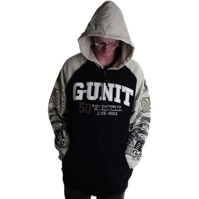 G-Unit No Retreat Zip Hoody - Black