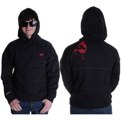 Image of Splash Trip Sweater Youth Zip Hoody - Full Black