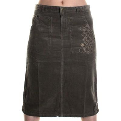 Grid Skirt - Earth
