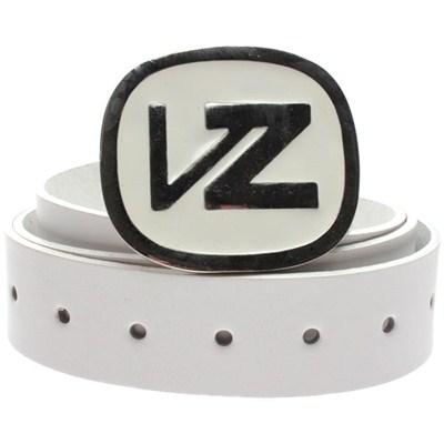 Icon Leather Belt - White