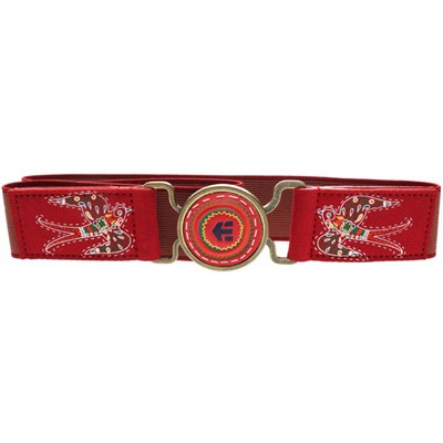 Baker Elastic Belt - Red