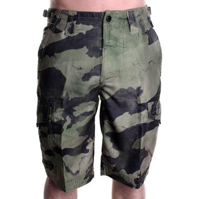 Hydroslambozo Hybrid Shorts - Military Camo