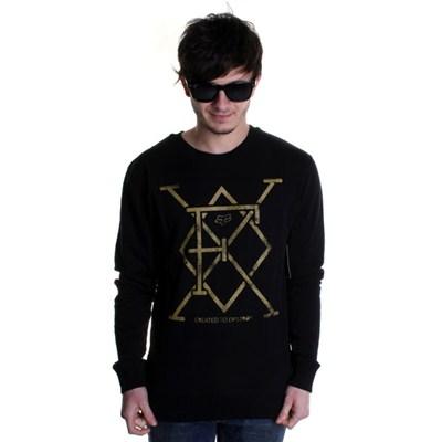 Munity Crew Fleece Sweater - Black