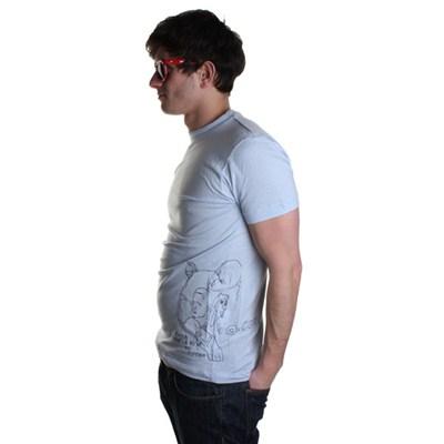 Cabeza S/S T-Shirt - Light Blue