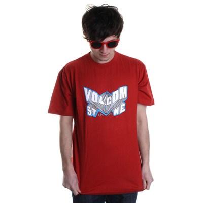 Super V S/S T-Shirt - Red