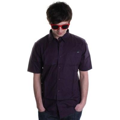 XYZ Solid S/S Shirt - Deep Purple