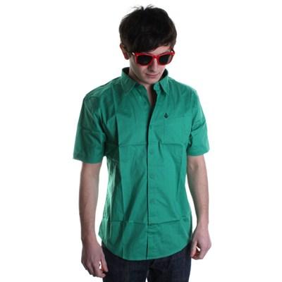 XYZ Solid S/S Shirt - Grass Green