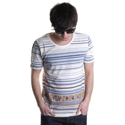 Segment S/S Crew T-Shirt - Off White