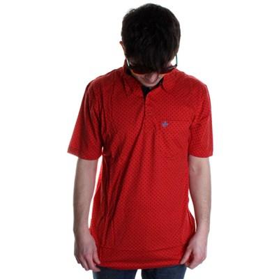 Starman POVD S/S Polo Shirt - Red