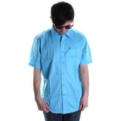 XYZ Solid S/S Shirt - Sky Blue