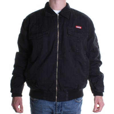 Decoy Military Bomber Jacket - Washed Black