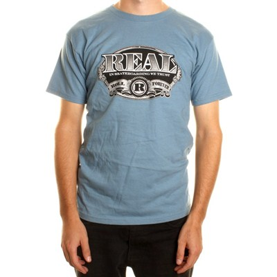 Currency S/S T-Shirt - Light Blue