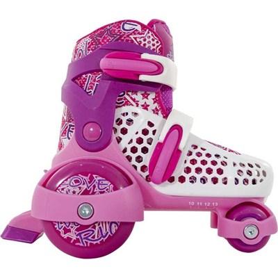 Stomper White/Pink Kids Starter Skates