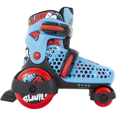 Stomper Blue/Red Kids Starter Skates