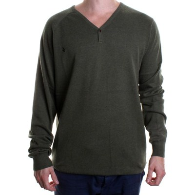 V-Co-Tel Sweater - Heather Faded Army