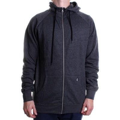 Timesoft Zip Fleece Hoody - Black