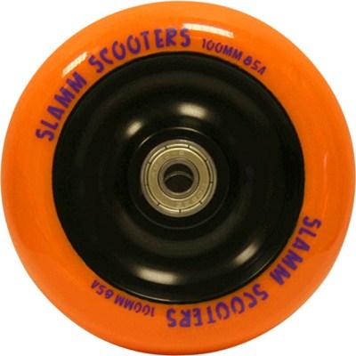 Metal Core Scooter Wheel and Bearings - Orange