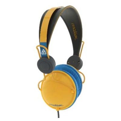 Domepiece Headphones - Orange Bang