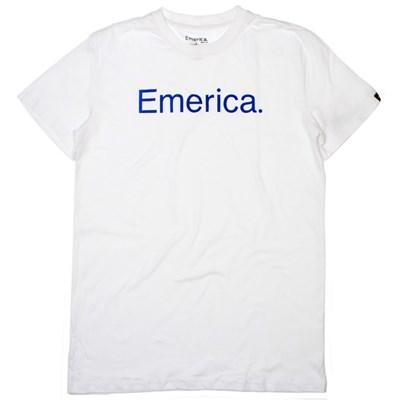 Pure 7.0 White/Blue S/S T-Shirt