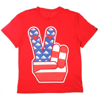 Emerican Style Red Youth S/S T-Shirt