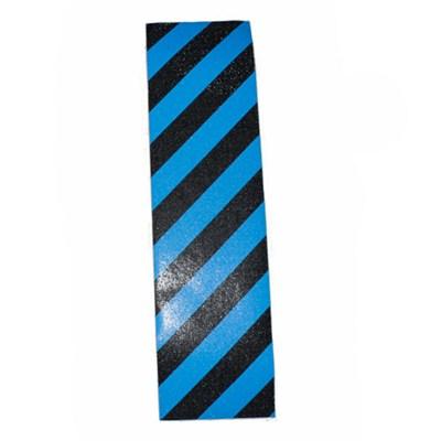 Hazard Black/Blue Skateboard Griptape