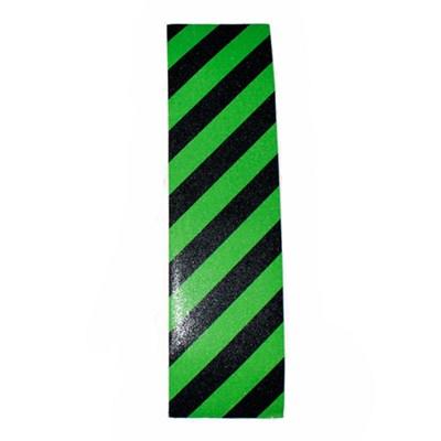 Hazard Black/Green Skateboard Griptape