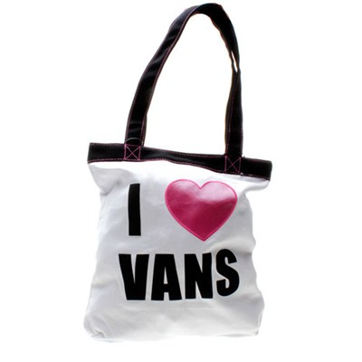 We Love Vans Tote Bag - White