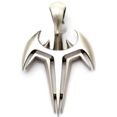 Nemesis Silver Matte Pendant
