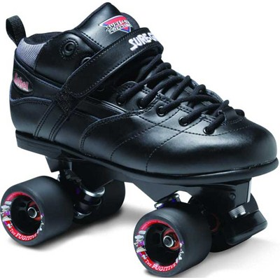 Rebel Avenger Black Quad Roller Skates
